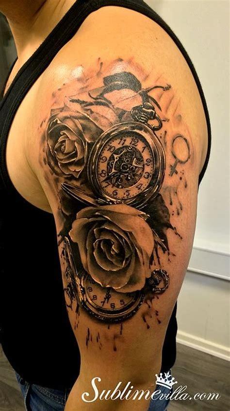Interessante Ideenschulter by Die Besten 25 Taschenuhr Tattoos Ideen Auf
