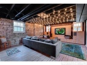 semi finished basement ideas google search basement