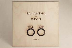 Classic wedding invitations his and her wedding rings wood for Pictures of wedding rings for invitations