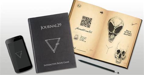 journal  interactive book game indiegogo