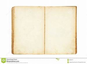 Open Old Blank Book Royalty Free Stock Photo - Image: 6280575