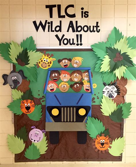 back to school bulletin board animal jungle theme 112 | 29cede38ce7d6014c5294e6650c06087