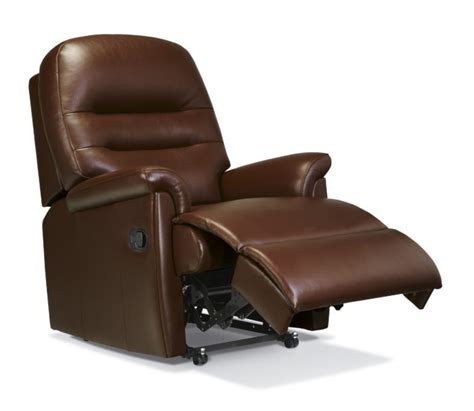 Small Reclining Chairs Uk by Keswick Small Leather Recliner Sherborne Upholstery