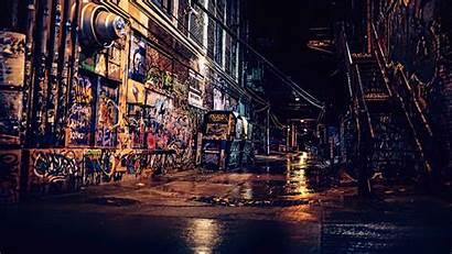 Graffiti 4k Wall Urban Night Wallpapers Street