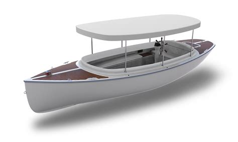 Electric Boat by Custom Electric Boat Fantail 217 Canadian Electric