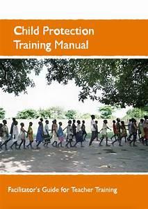 Child Protection Training Manual  Facilitator U2019s Guide For