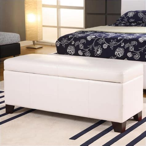 add an seating or storage to your bedroom with an