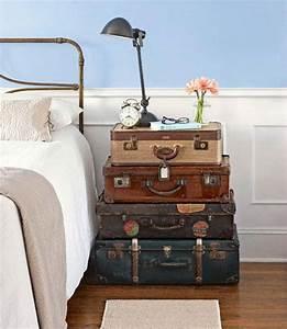 LA BOHEME: Decorar con maletas antiguas