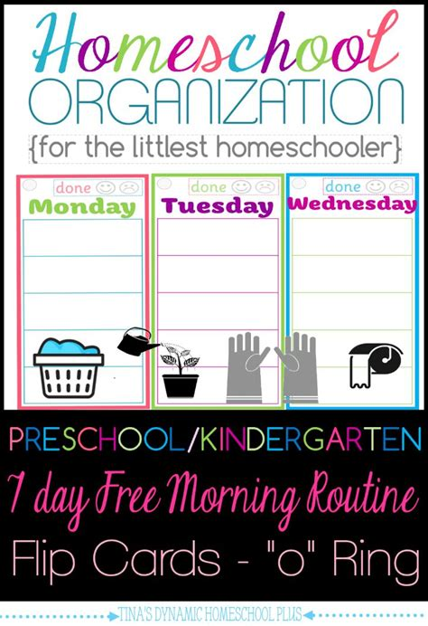 homeschool organization preschoolkindergarten