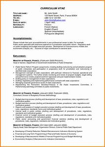 Cv english professional experience for Best resume template for experienced professional