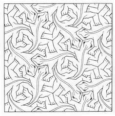math tessellations images math art mc escher