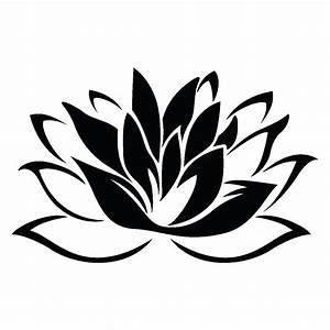 Dessin Fleurs De Lotus : stickers muraux fleurs sticker fleur de lotus ambiance ~ Dode.kayakingforconservation.com Idées de Décoration