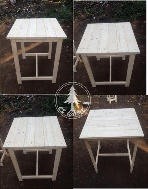 meja kayu pallet desainrumahidcom