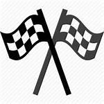 Finish Flag Line Race Racing Icon Transparent