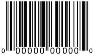 UPC Barcode Label