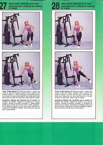 York Mega Max 3001 Gym Workout Chart