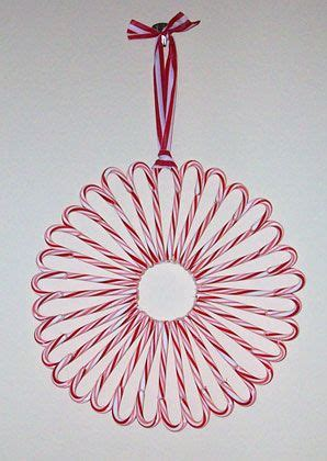 candy cane wreath   door  christmas diy