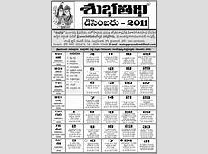Telugu Calendar 2011 Astrology Online horoscope
