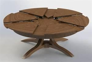 La table ronde extensible - idées pratiques pour votre