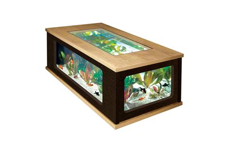 table basse aquarium design ezooq