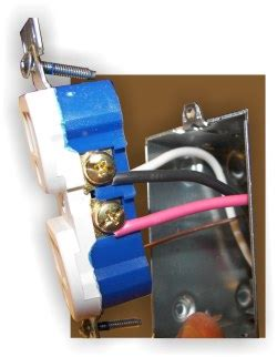 How Wire Split Receptacle