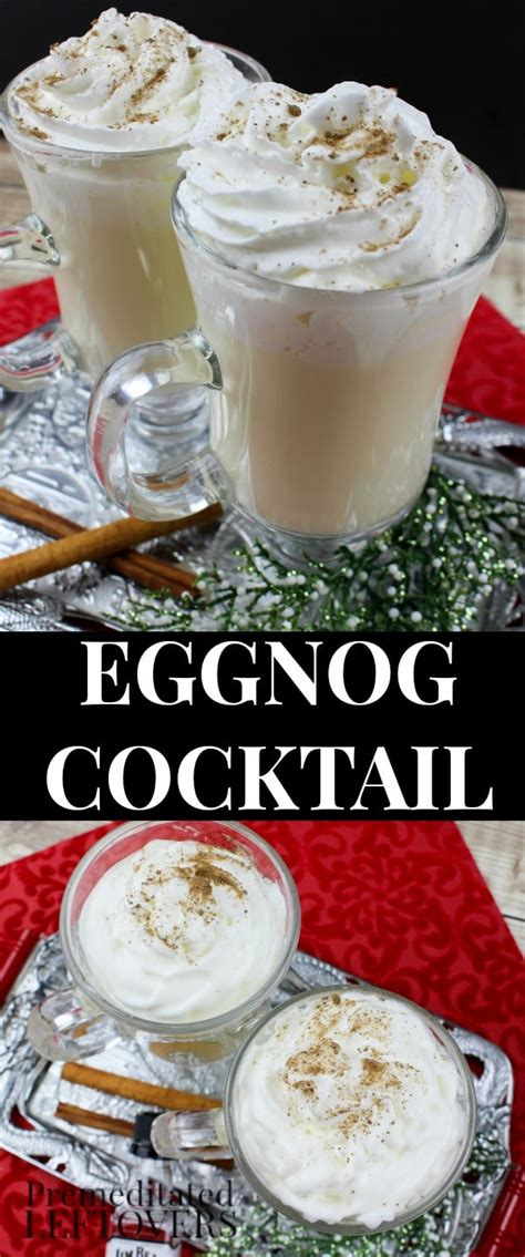 easy eggnog cocktail recipe