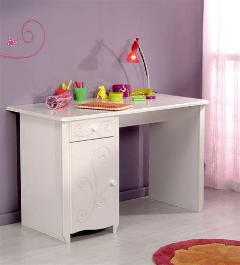 modele de bureau pour fille bureau enfant contemporain blanc megève malicia bureau