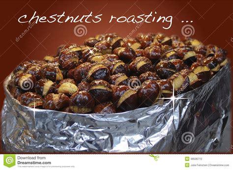 Chestnuts Roasting Stock Photo  Image 48506712