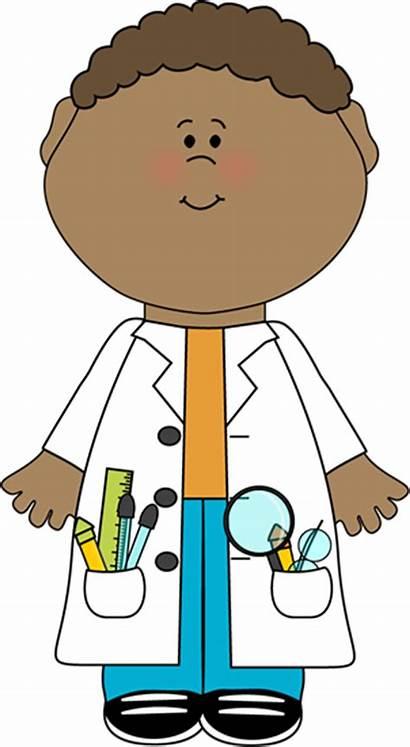 Scientist Child Science Clip Lab Coat Graphics