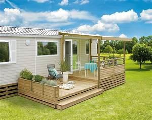 Bois De Terrasse : terrasse en bois pour mobil home clairval conseils pratiques terrasses mobilhome ~ Preciouscoupons.com Idées de Décoration