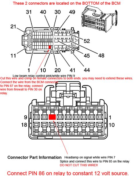2006 Grand Prix Headlight Wiring Diagram by Eliminate Daytime Running Lights Headlights 04 Grand Prix