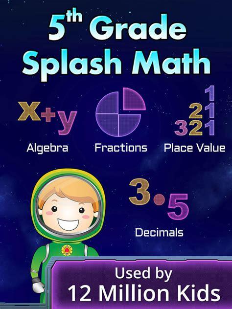 app shopper fifth grade splash math educational learning games education