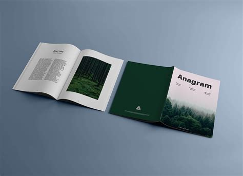 Vectogravic designs presents a free magazine psd mockup for businesses and companies that want to build their own little magazines. Free A4 Title & Inner Pages Magazine Mockup PSD - Good Mockups