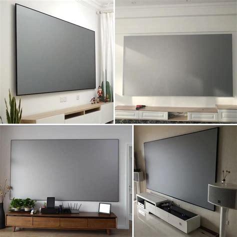 luxury theatre projector screen  ultra hd ready