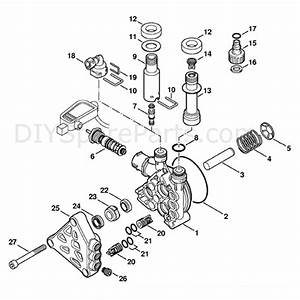 Stihl Re 117 Pressure Washer  Re 117  Parts Diagram  Pump