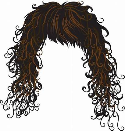 Hair Clipart Clip Wig Crazy Funny Afro