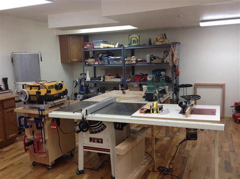jeffs basement workshop  wood whisperer