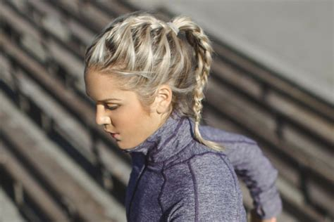 hairstyles   fit   gym kit  summer dose