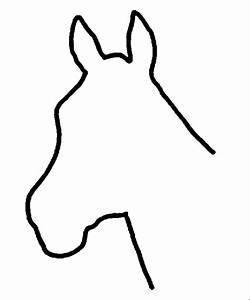 Horse Head Clip Art   Horse head - Found at the Clip Art ...
