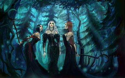 Pagan Goddess Fantasy Witch Wallpapers Wallpaperplay