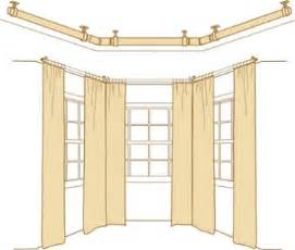 bay window curtain rods for valuable project mccurtaincounty