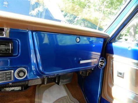 Buy Used 1972 Chevrolet K5 Blazer, 4x4, Crate 350, Blue
