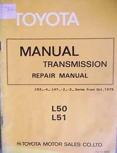 Toyota Transmission Repair Manual L50 L51 1980 36023