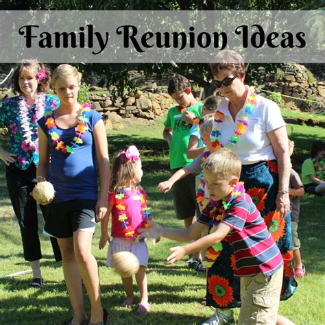 family reunion cowboys and more family reunion theme ideas create lifelong memories tips for family
