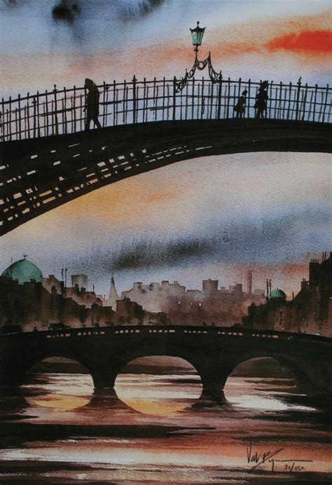 the ha bridge dublin by contemporary artist val