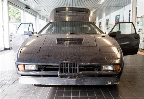 Това е забравено и намерено Bmw M1 Turbo, направено за
