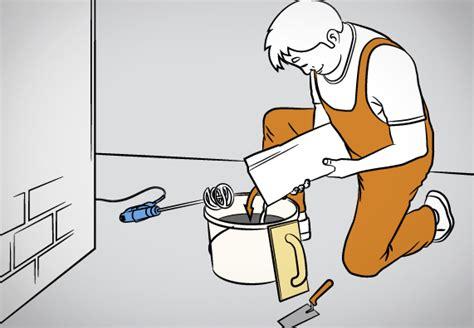 Schritt Fuer Schritt Reibeputz Auftragen Und Strukturieren by Innenw 228 Nde Verputzen Anleitung In 9 Schritten Obi