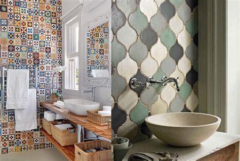 impressive multi colored tile bathroom design ideas