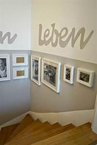 Farbgestaltung Flur Diele : die besten 25 treppenaufgang gestalten ideen auf pinterest fotowand treppe wandgestaltung ~ Orissabook.com Haus und Dekorationen