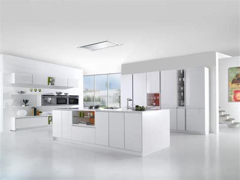 modele de cuisine blanche modele de cuisine moderne avec ilot cuisine blanche